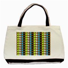 Colorful Leaf Pattern Basic Tote Bag (two Sides)