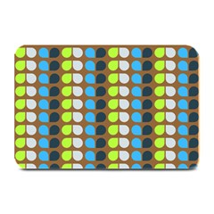 Colorful Leaf Pattern Plate Mats