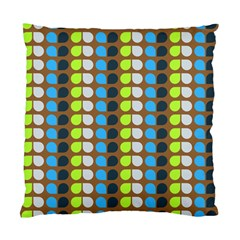 Colorful Leaf Pattern Standard Cushion Cases (two Sides)