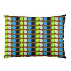 Colorful Leaf Pattern Pillow Cases