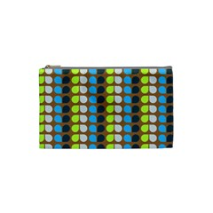 Colorful Leaf Pattern Cosmetic Bag (small)
