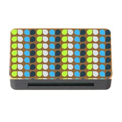 Colorful Leaf Pattern Memory Card Reader with CF