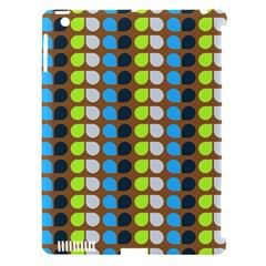 Colorful Leaf Pattern Apple Ipad 3/4 Hardshell Case (compatible With Smart Cover)