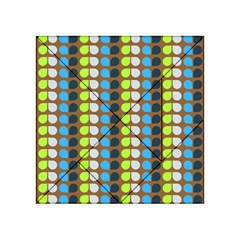 Colorful Leaf Pattern Acrylic Tangram Puzzle (4  X 4 )