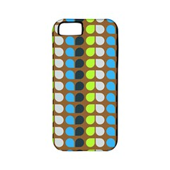 Colorful Leaf Pattern Apple Iphone 5 Classic Hardshell Case (pc+silicone)