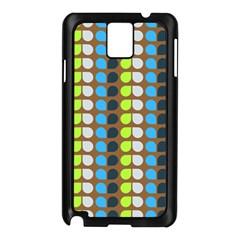 Colorful Leaf Pattern Samsung Galaxy Note 3 N9005 Case (black)