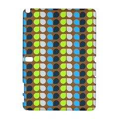 Colorful Leaf Pattern Samsung Galaxy Note 10 1 (p600) Hardshell Case