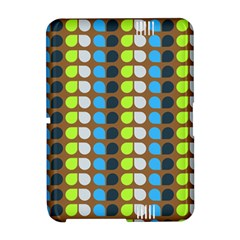 Colorful Leaf Pattern Kindle Fire HD Hardshell Case
