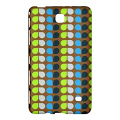 Colorful Leaf Pattern Samsung Galaxy Tab 4 (8 ) Hardshell Case
