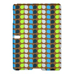Colorful Leaf Pattern Samsung Galaxy Tab S (10.5 ) Hardshell Case