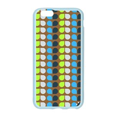 Colorful Leaf Pattern Apple Seamless iPhone 6 Case (Color)