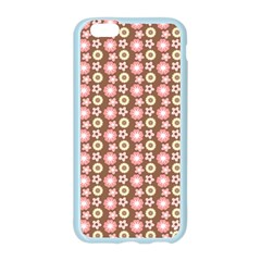 Cute Floral Pattern Apple Seamless iPhone 6 Case (Color)