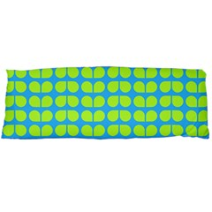 Blue Lime Leaf Pattern Body Pillow Cases Dakimakura (Two Sides)