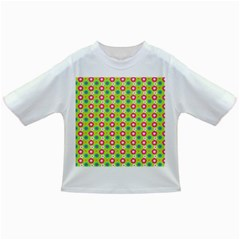 Cute Floral Pattern Infant/toddler T Shirts