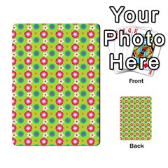 Cute Floral Pattern Multi-purpose Cards (Rectangle)