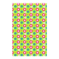 Cute Floral Pattern Shower Curtain 48  X 72  (small)