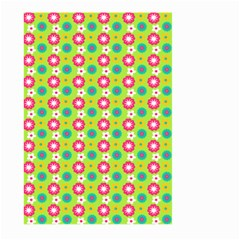 Cute Floral Pattern Large Garden Flag (two Sides)