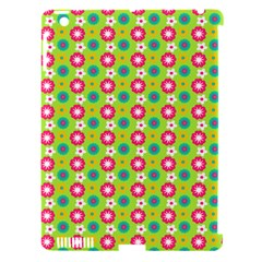 Cute Floral Pattern Apple Ipad 3/4 Hardshell Case (compatible With Smart Cover)