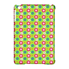 Cute Floral Pattern Apple Ipad Mini Hardshell Case (compatible With Smart Cover)