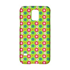 Cute Floral Pattern Samsung Galaxy S5 Hardshell Case