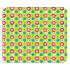 Cute Floral Pattern Double Sided Flano Blanket (Small)