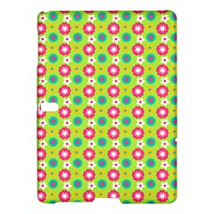 Cute Floral Pattern Samsung Galaxy Tab S (10 5 ) Hardshell Case