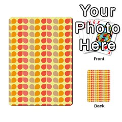 Colorful Leaf Pattern Multi-purpose Cards (Rectangle)