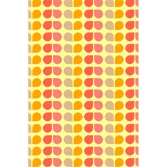 Colorful Leaf Pattern 5 5  X 8 5  Notebooks