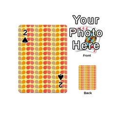 Colorful Leaf Pattern Playing Cards 54 (Mini)
