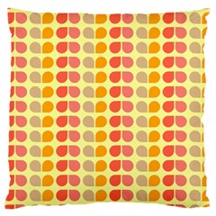 Colorful Leaf Pattern Large Cushion Cases (two Sides)