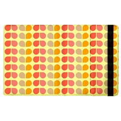 Colorful Leaf Pattern Apple Ipad 3/4 Flip Case