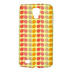 Colorful Leaf Pattern Galaxy S4 Active