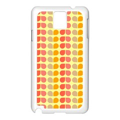 Colorful Leaf Pattern Samsung Galaxy Note 3 N9005 Case (white)