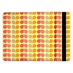 Colorful Leaf Pattern Samsung Galaxy Tab Pro 12 2  Flip Case