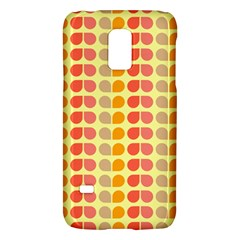 Colorful Leaf Pattern Galaxy S5 Mini