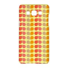 Colorful Leaf Pattern Samsung Galaxy A5 Hardshell Case