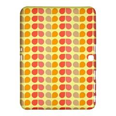 Colorful Leaf Pattern Samsung Galaxy Tab 4 (10.1 ) Hardshell Case