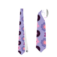 Cute Floral Pattern Neckties (one Side)