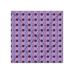 Cute Floral Pattern Acrylic Tangram Puzzle (4  x 4 )