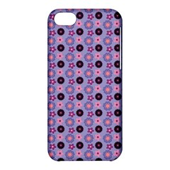 Cute Floral Pattern Apple Iphone 5c Hardshell Case