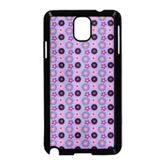 Cute Floral Pattern Samsung Galaxy Note 3 Neo Hardshell Case (black)