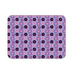 Cute Floral Pattern Double Sided Flano Blanket (mini)