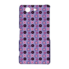 Cute Floral Pattern Sony Xperia Z3 Compact