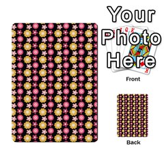 Cute Floral Pattern Multi Purpose Cards (rectangle)