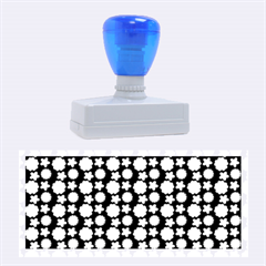Cute Floral Pattern Rubber Stamps (Large)