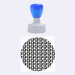 Cute Floral Pattern Rubber Round Stamps (Medium)