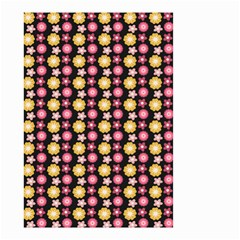 Cute Floral Pattern Small Garden Flag (two Sides)