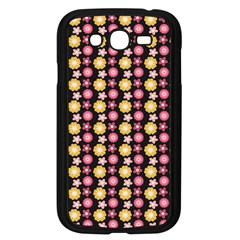 Cute Floral Pattern Samsung Galaxy Grand Duos I9082 Case (black)