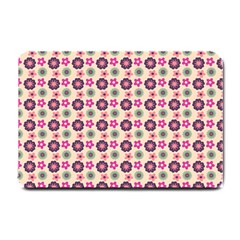 Cute Floral Pattern Small Doormat