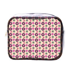 Cute Floral Pattern Mini Toiletries Bags